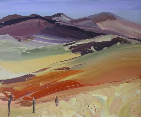 Sarah Carvell, Billowing Grass, Hiraethog