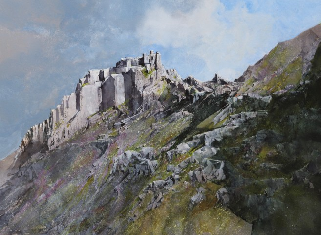 Malcolm Edwards, Screes and Rock, Dinas Cromlech