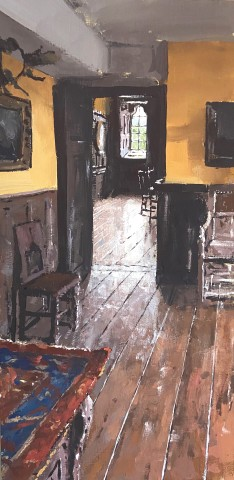 Matthew Wood, Gwydir Castle - View to the Dining Room