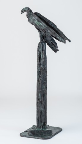 Helen Sinclair, Upon the Rough Bark (after 'Hawk Roosting' by Ted Hughes)