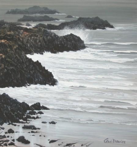 Ceri Auckland Davies, Sea Greys (Ynys Llanddwyn)