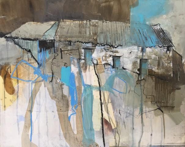 Pete Monaghan, Shades of Blue I (Cwm Ceulan)