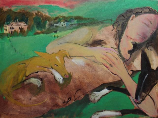Nettle Grellier, Loves Asleep in Llanrhystud