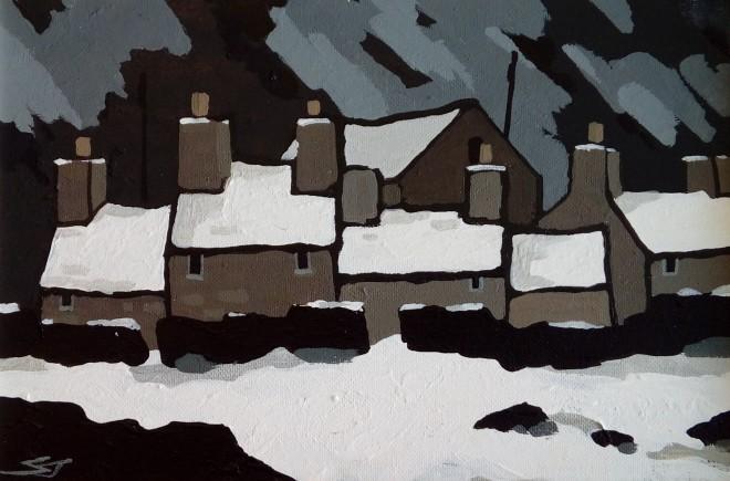 Stephen John Owen, Heavy Snow, Deiniolen