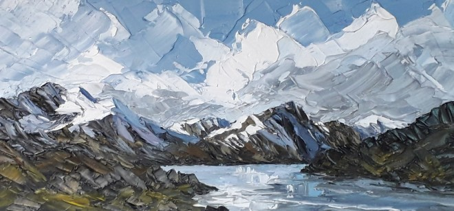 Martin Llewellyn, Llyn Ogwen, Winter