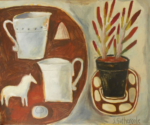 Susan Gathercole, Venetian Red Still Life