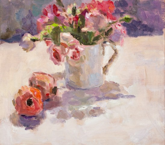 Lynne Cartlidge, Roses and Pomegranates