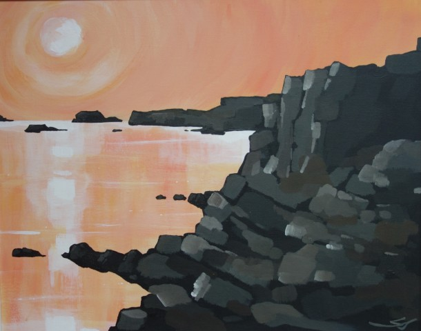 Stephen John Owen, Rocks near Holyhead