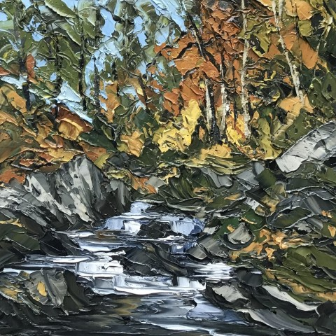 Martin Llewellyn, Autumn, Fairy Glen