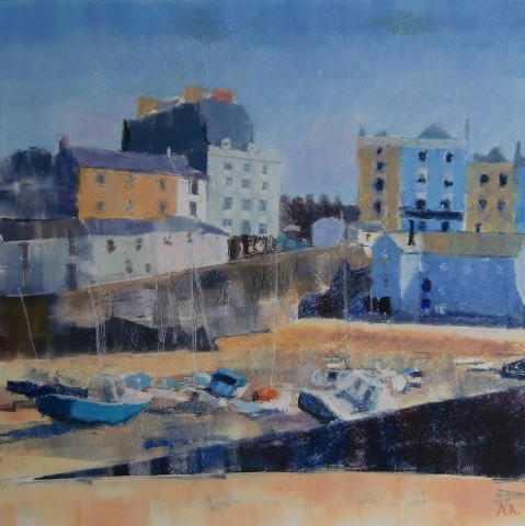 Anne Aspinall, Tenby at Low Tide