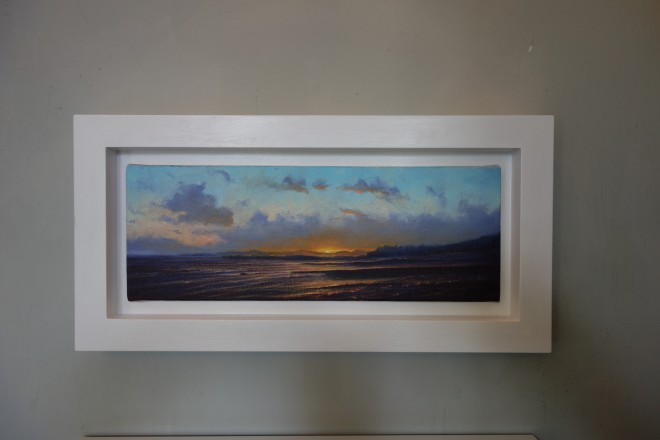 Gerald Dewsbury, Sunset on Criccieth Beach