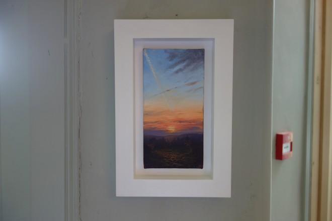 Gerald Dewsbury, Sunset from Bogwood