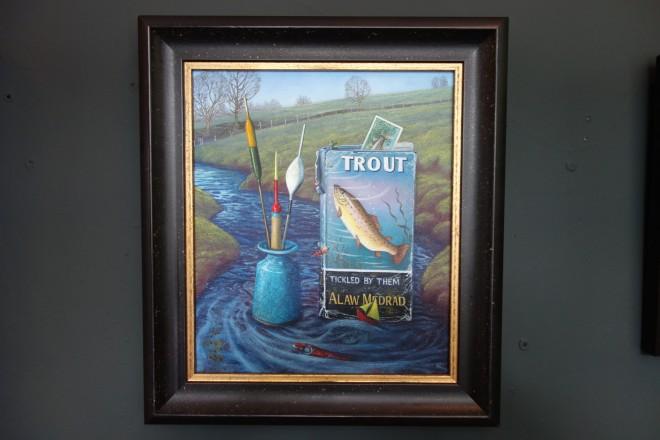 Kim Dewsbury, Tickled by Trout
