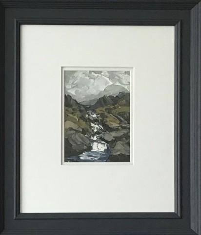 Martin Llewellyn, Mountain Stream, Llanberis