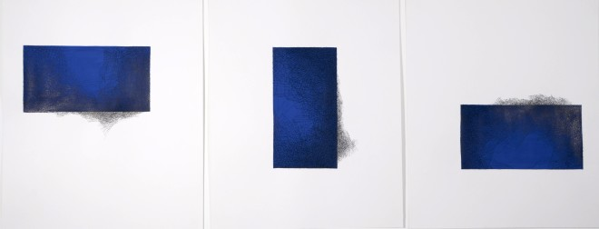 Untitled #81-83 (triptych)