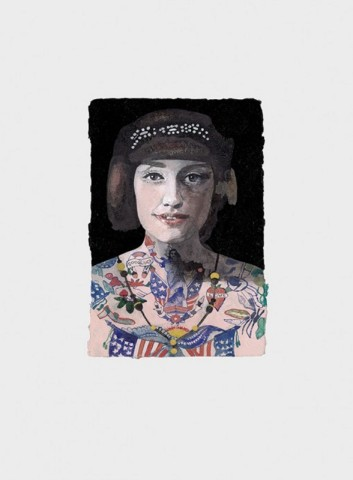 Peter Blake, Tattooed People - Grace
