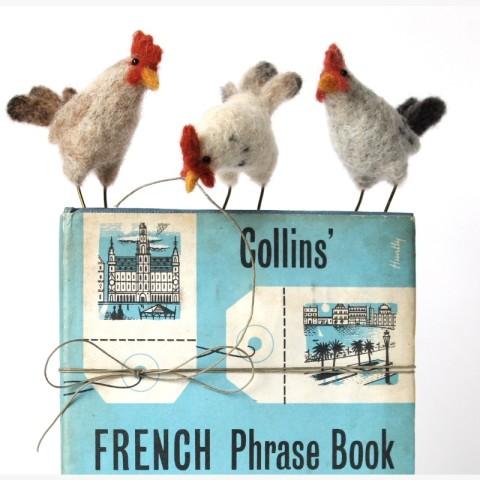 Dinny Pocock, Three French Hens