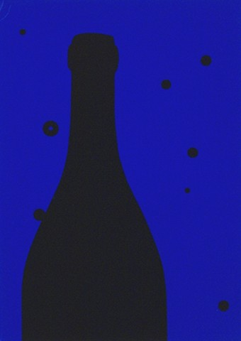 Patrick Caulfield, Night Sky, 1973