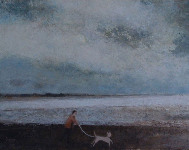 David Brayne RWS, Berrow Flats