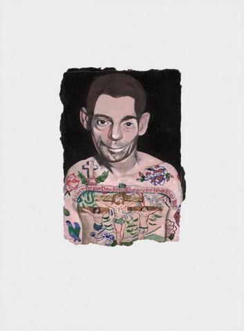 Peter Blake, Tattooed People - Dan