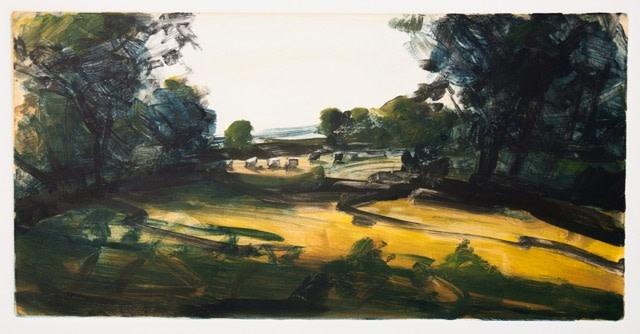 Robert Newton, September, A Few Cows