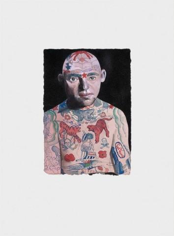 Peter Blake, Tattooed People - Lex