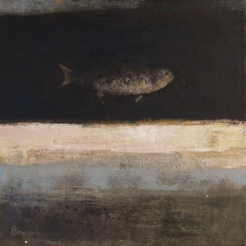 David Brayne RWS, River Fish III