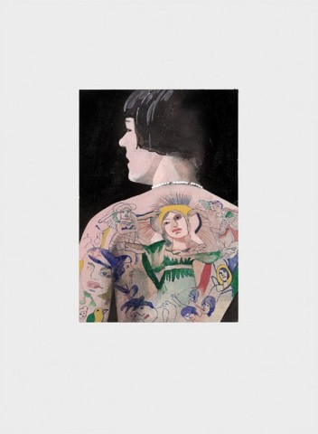 Peter Blake, Tattooed People - Betty
