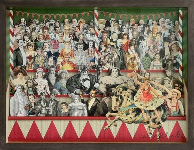 Peter Blake, 3D Circus Collage - Centre
