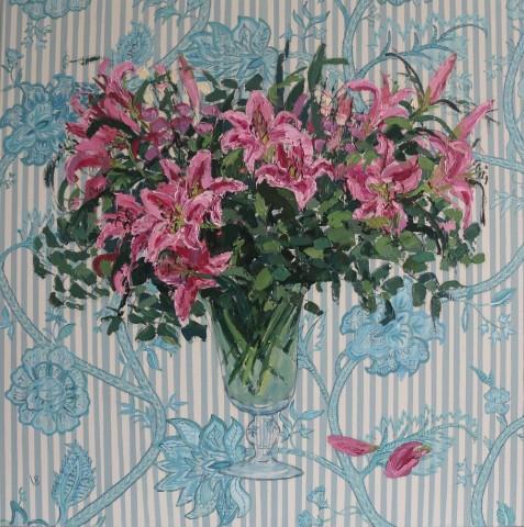 Venetia Syms, Beaulieu Ciel Lilies , 2020