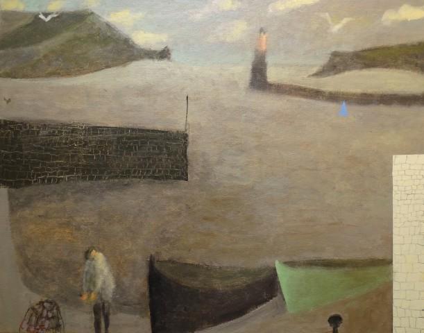 Fisherman and Creel