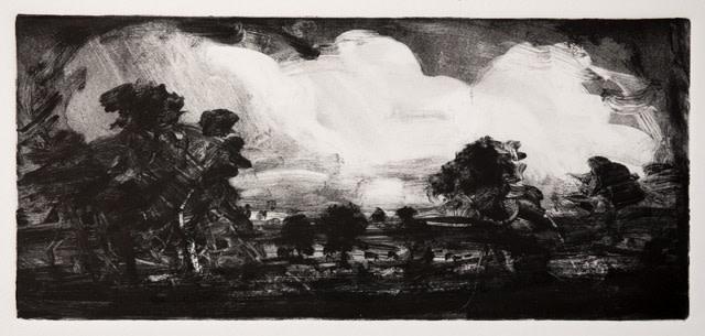 Robert Newton, Big Clouds, Old Landscape