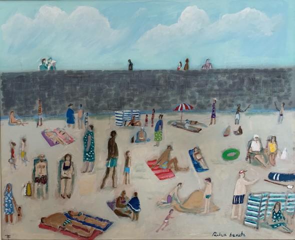 David Fawcett, Packed Beach