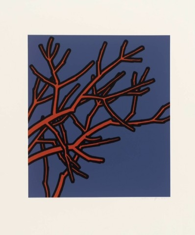 Patrick Caulfield, Jules Laforgue - All the benches are wet, the woods are so rusty (Edition C), 1973