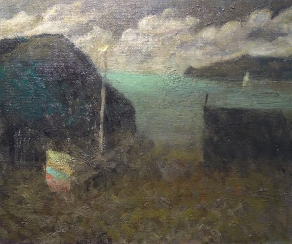 Nicholas Turner RWA, Green Sea