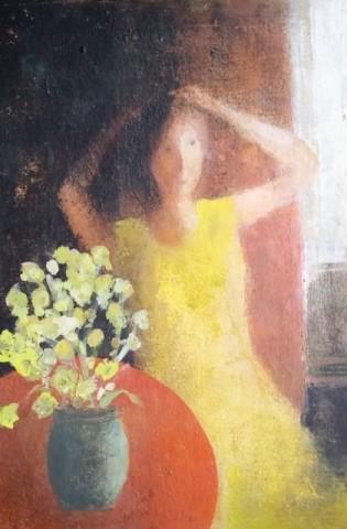 David Brayne RWS, Summer Flowers