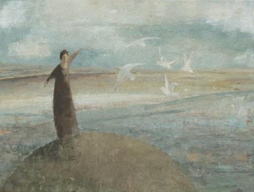 David Brayne RWS, Grey Gulls