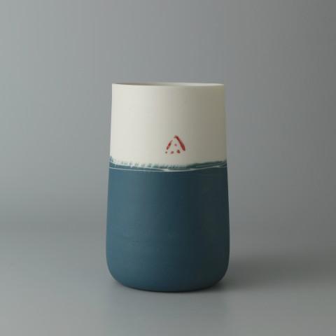 Ali Tomlin, Tall Cup - Half Teal