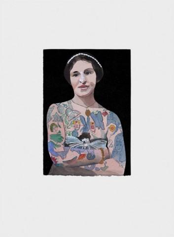 Peter Blake, Tattooed People - Emily