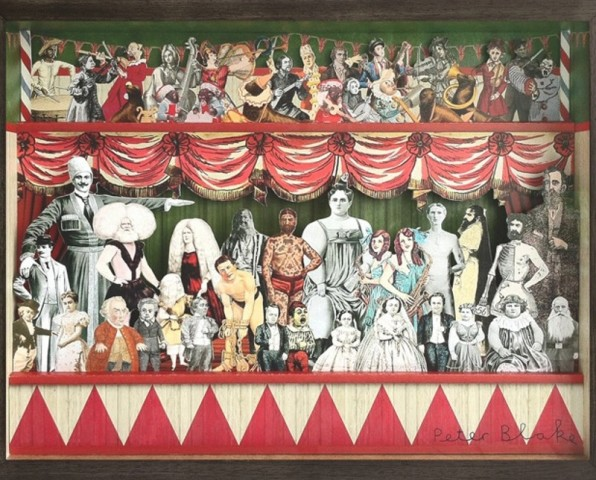 Peter Blake, 3D Circus Collage - Right