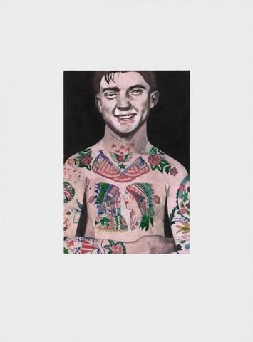 Peter Blake, Tattooed People - Percy