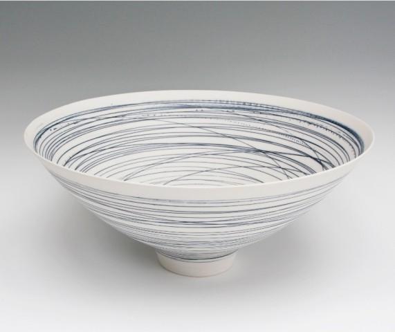 Ali Tomlin, Large Blue Lines Bowl