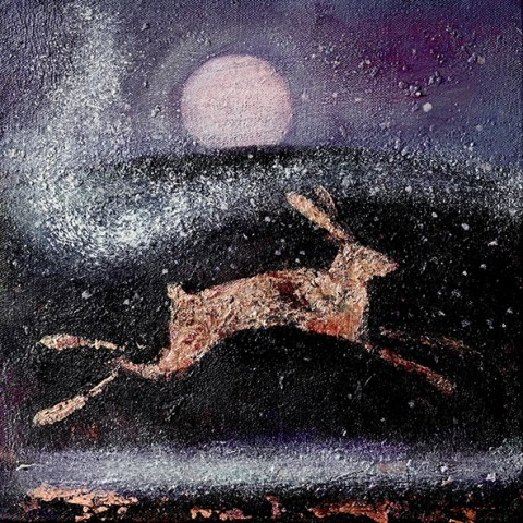 Catherine Hyde, The Hare and the Moon