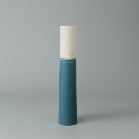 Ali Tomlin, Single Stem - Teal
