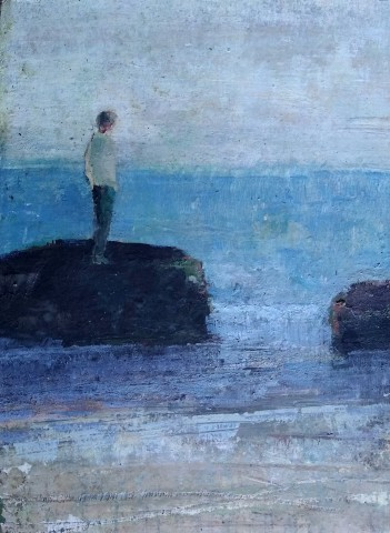 David Brayne RWS, Low Tide