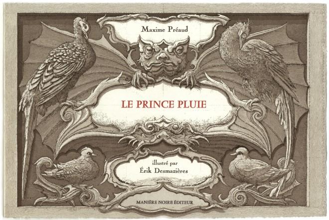 Livre Le Prince Pluie