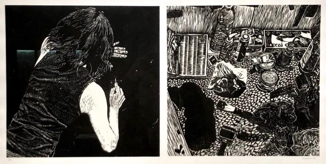 Scène de crime - Dalles #24 & #15