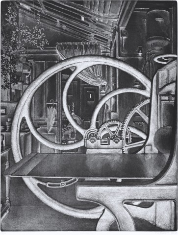 Érik Desmazières, Atelier René Tazé V, 1992-1993