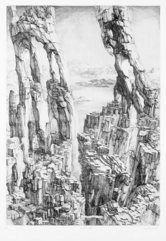 Une Ville dans les falaises