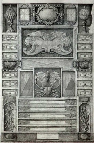 Frontispice de la « Suite Musæum Clausum »